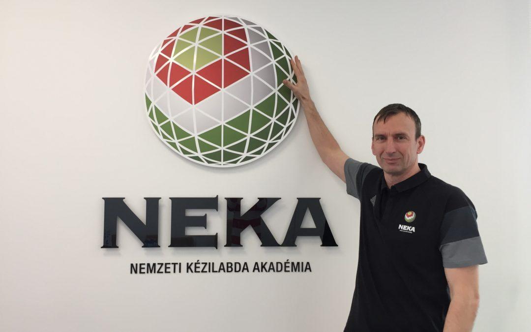 Sótonyi László a NEKA új edzője
