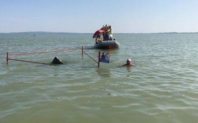 Zimányi András hosszában úszta végig a Balatont