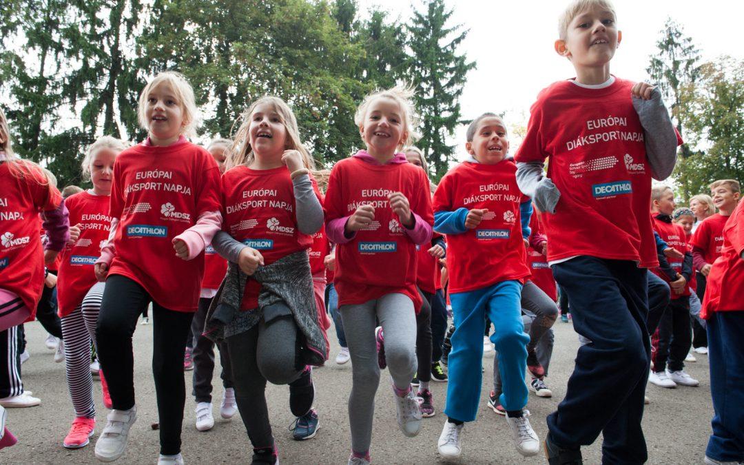 Több millió résztvevőre számítanak a kontinensen az Európai Diáksport Napja rendezvényeken