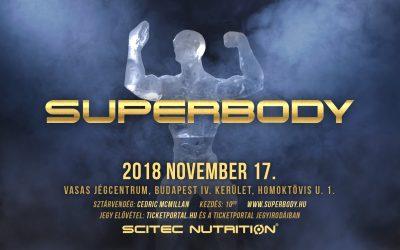 PROGRAMAJÁNLÓ  Az ország legjobb testépítői egy helyen: ez a Superbody!