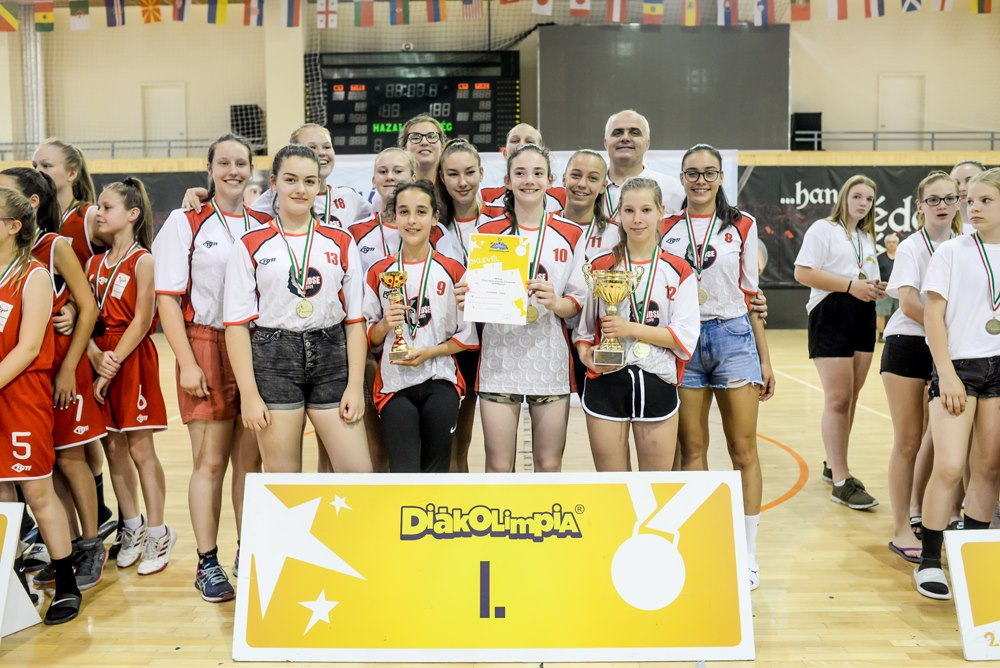Balatonboglári kézilabdás lányok győzedelmeskedtek az Összevont Labdajátékok Diákolimpia Országos Döntőjében