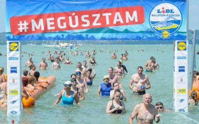 Június végén tartanák meg a Balaton-átúszást