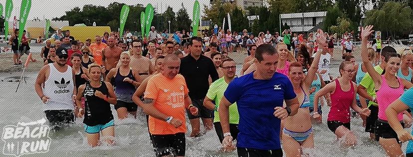 Beach Run mezítlábas futás a Balatonban