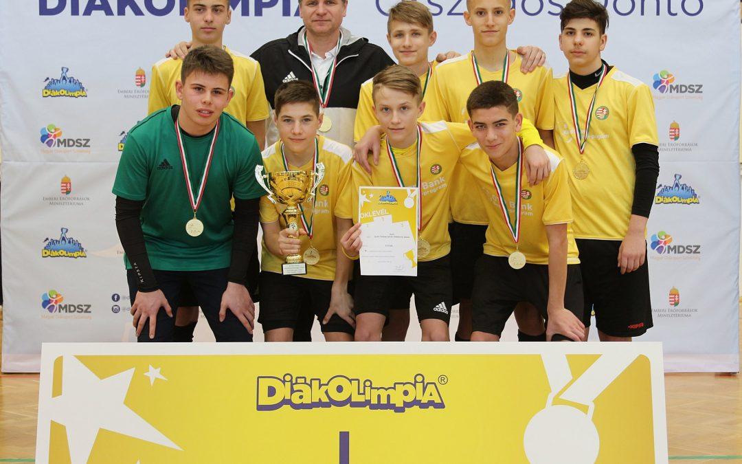 Győri futsalosok örülhettek az aranyéremnek
